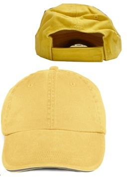 Anvil Solid Low-Profile Sandwich Trim Twill Cap