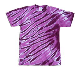 Dyenomite Youth 5.3 Ounce Tiger Stripes T-Shirt