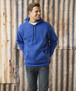 J-America Adult Premium Fleece Hooded Pullover