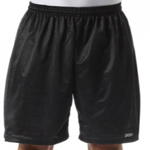 """A4 Youth 3.4 Ounce 6"""" Lined Tricot Mesh Short."""