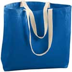 Augusta 11 oz. Cotton Canvas Jumbo Tote