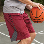 """Badger Adult  B-Core """"Drive"""" Polyester Pocketed Short"""