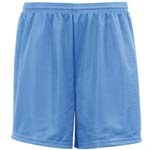 """Badger 70 denier Adult Mesh Tricot Short with 9"""" Inseam"""