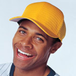 Flexfit Adult 6 Panel Athletic Mesh Cap