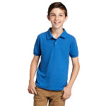 Youth 50/50 6.5 Ounce Dryblend™ Piquè Knit Polo