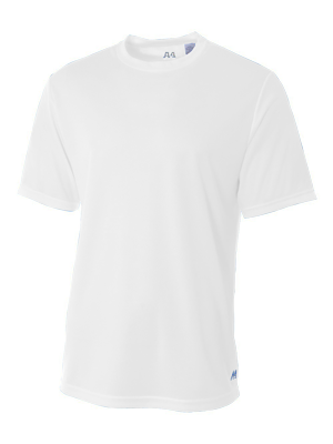 A4 Adult 4.0 Ounce Poly Performance Short Sleeve T-Shirt