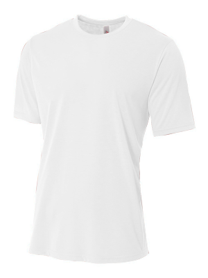 A4 Men's 4.7 Ounce Spun Poly Performance Short Sleeve T-Shirt