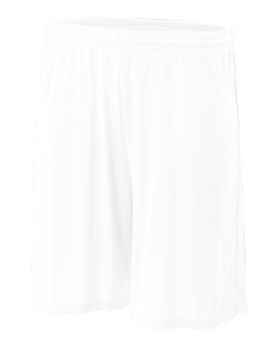 """A4 Adult 4.0 Ounce 9"""" Cooling Performance Interlock Practice Short"""