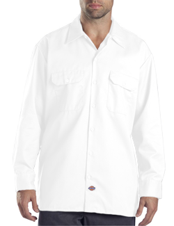 Dickies Adult 5.25 Ounce Long Sleeve Work Shirt. (WAS STYLE 574)