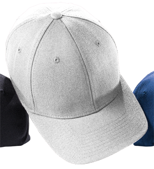 Flexfit® Wool Mid-Profile Fitted 6 Panel Cap