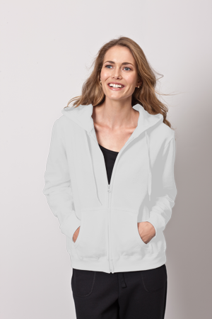 Gildan Heavy Blend 8.0 Ounce Ladies' Full Zip Hooded Sweatshirt
