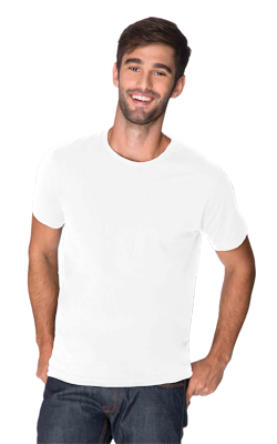 Next Level Men's 4.3 Ounce Cotton Crewneck T-Shirt