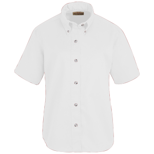 RedKap 4.25 Ounce Ladies Short Sleeve Poplin Work Shirt